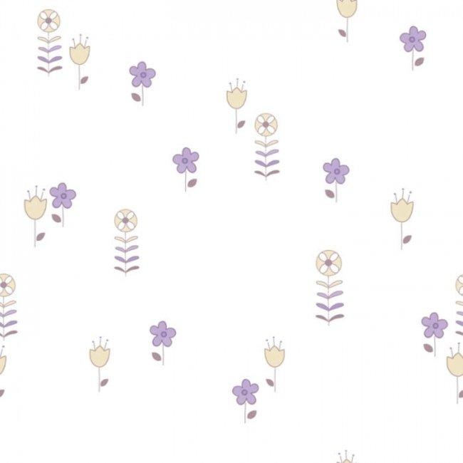 کاغذ دیواری بیمبی طرح گل 1306