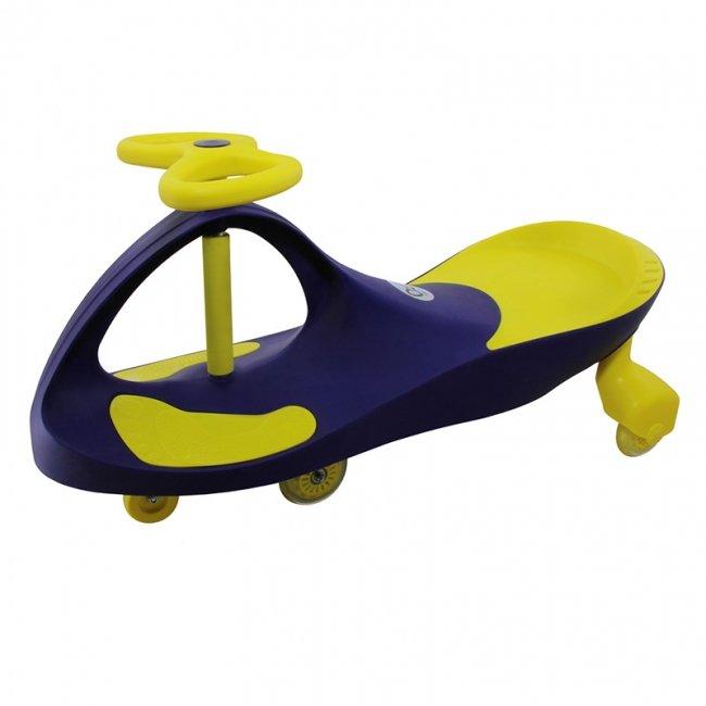 سه چرخه پلاسماکار سرمه ای زرد مدل لوپ