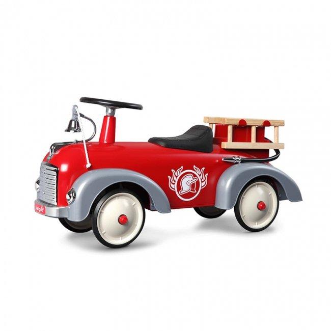 ماشین پایی فلزی کودک  آتش نشانی Speedster Fireman baghera 838