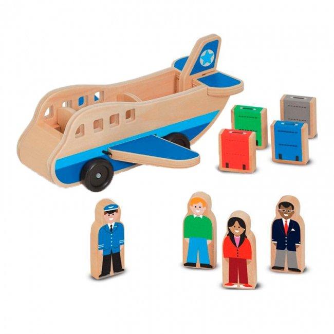 هواپیما اسباب بازی چوبی مدل 1565
