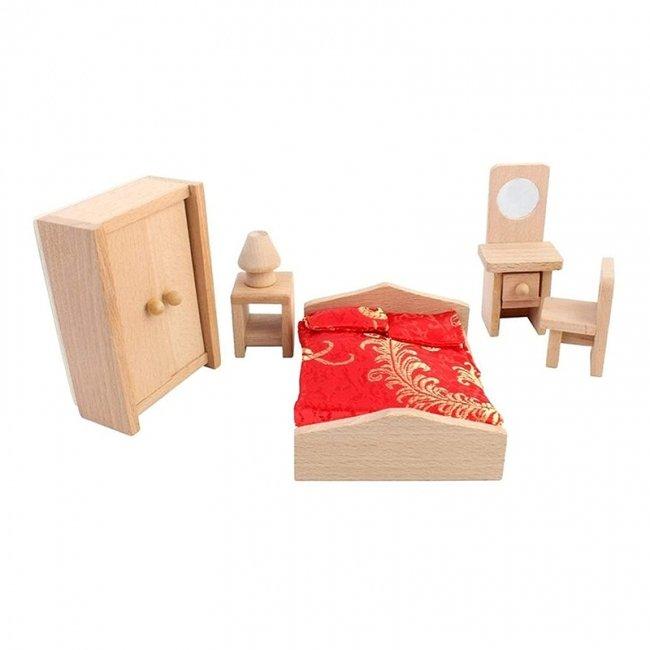 اسباب بازی چوبی ست اتاق خواب مدل 28186