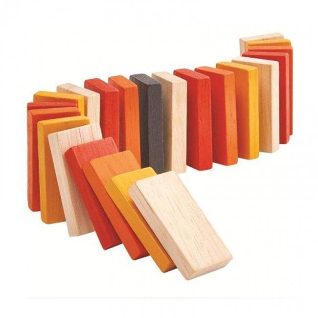 اسباب بازی چوبی دومینو مدل 5126