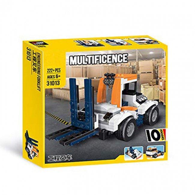لگو ماشین راه سازی لیفتراک Multificent مدل 31013