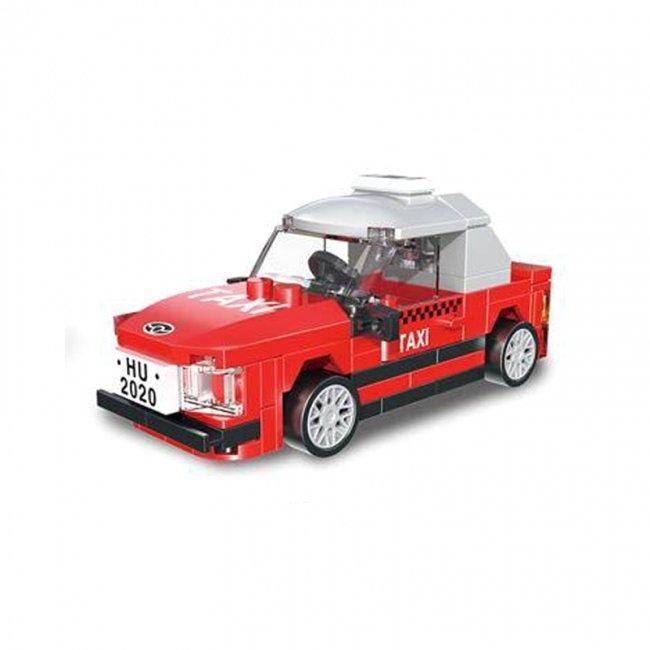 لگو تاکسی قرمز عقب کش مدل 22020