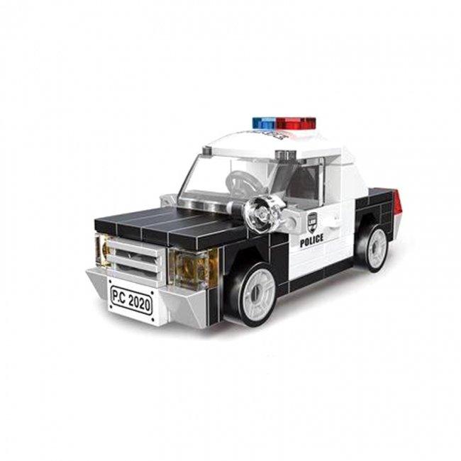 لگو ماشین پلیس عقب کش مدل 22019
