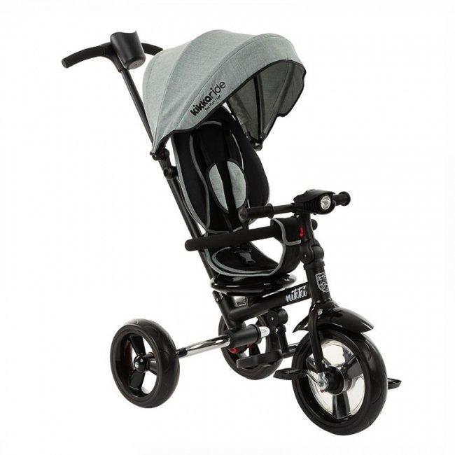 سه چرخه کودک تاشو با سایبان Kikka Boo رنگ مینت مدل Nikki 3in1 کد 31006020114