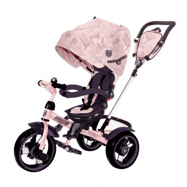 سه چرخه کودک چندکاره Kikka Boo رنگ صورتی مدل Alonsy