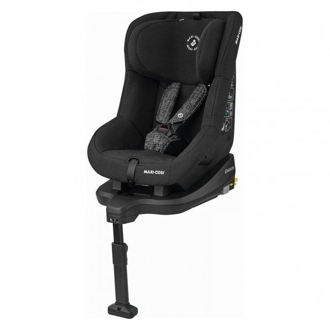 صندلی ماشین کودک مکسی کوزی با ایزوفیکس Tobifix Black Grid مدل 8616725110