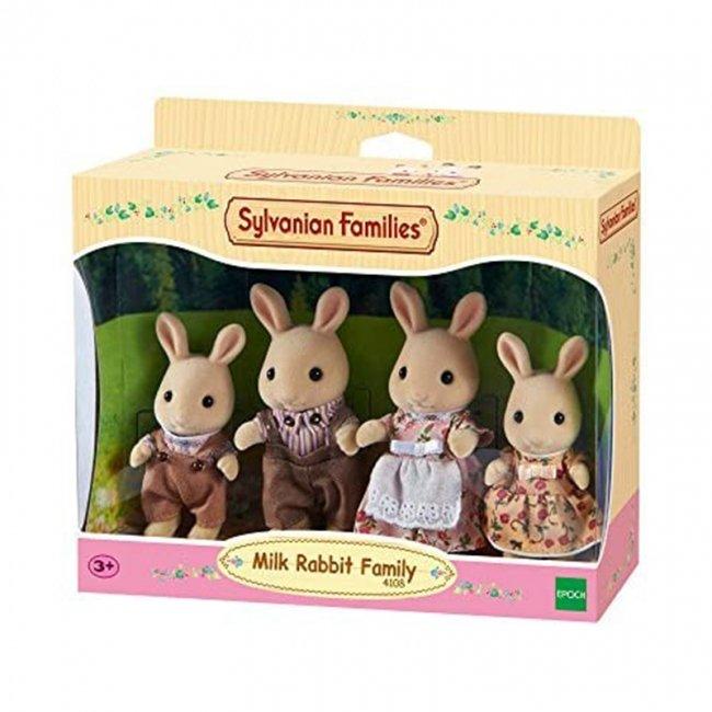 خانواده خرگوش شیری سیلوانیان فامیلیز sylvanian families 4108