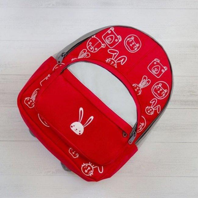 کوله پشتی کودک  رنگ قرمز مدل 3200