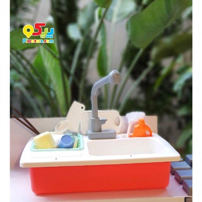 سینک ظرفشوئی کودک رنگ نارنجی مدل  236A