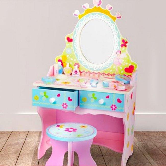 میز آرایش چوبی کودک کد 1291