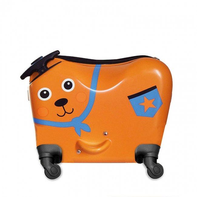 چمدان کودک اوپس طرح خرس چرخدار کد 3100911