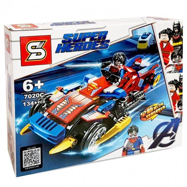 لگو ماشین قهرمانان سوپرمن کد 7020C