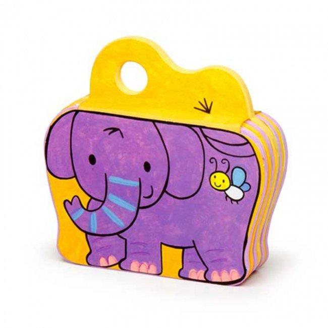 کتاب فومی یه بچه فیل بازیگوش