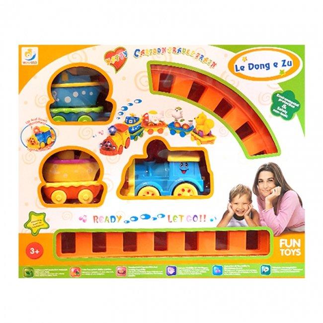 قطار اسباب بازی موزیکال مدل 1109
