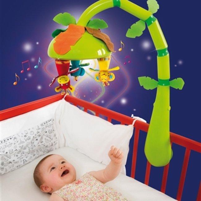 آویز تخت موزیکال نوزاد و کودک دو كاره baby moov  كد 104408