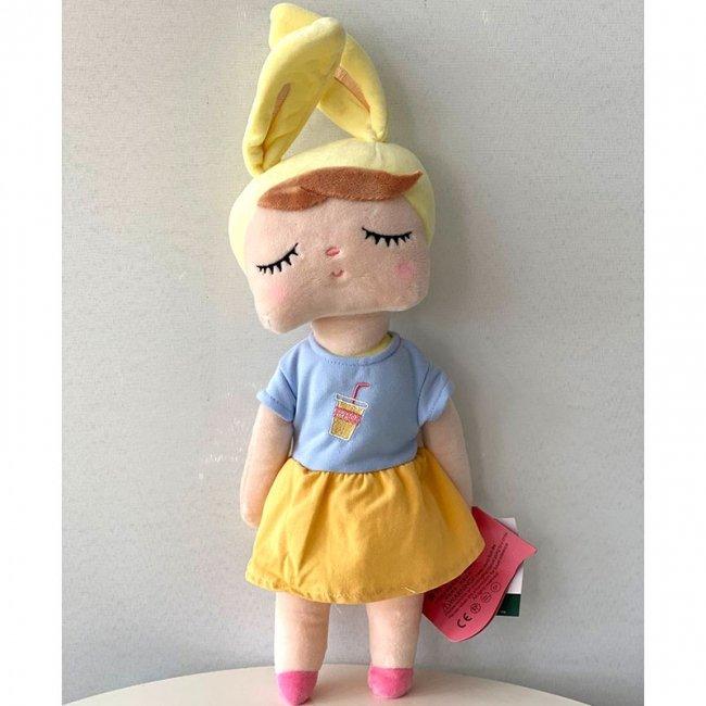 عروسک آنجل با لباس آبی و زرد کد 912144