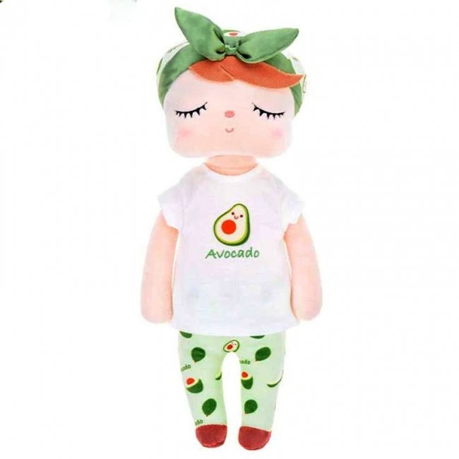 عروسک آنجل با لباس آووکادو کد 91276