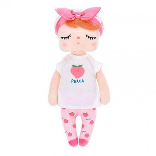 عروسک آنجل با لباس هلو کد 91272
