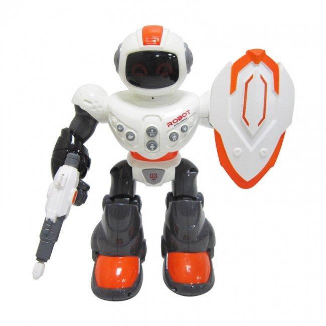 ربات اسباب بازی هوشمند نارنجی کد 606