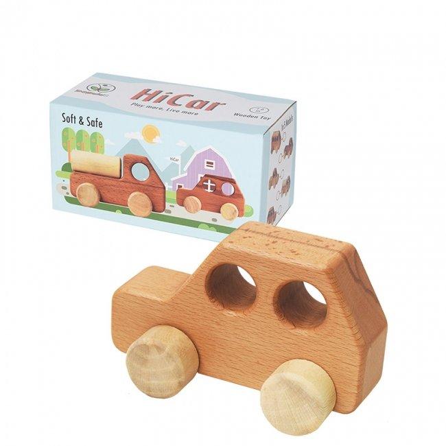 ماشین اسباب بازی چوبی پوپولوس مدل سواری هایکار hicar کد 10615