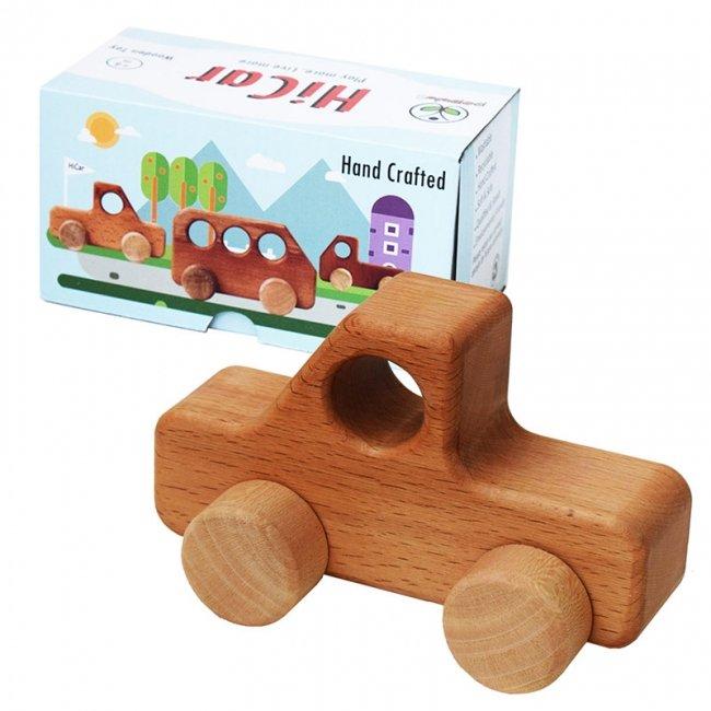 ماشین اسباب بازی چوبی پوپولوس مدل وانت هایکار hicar کد 10615