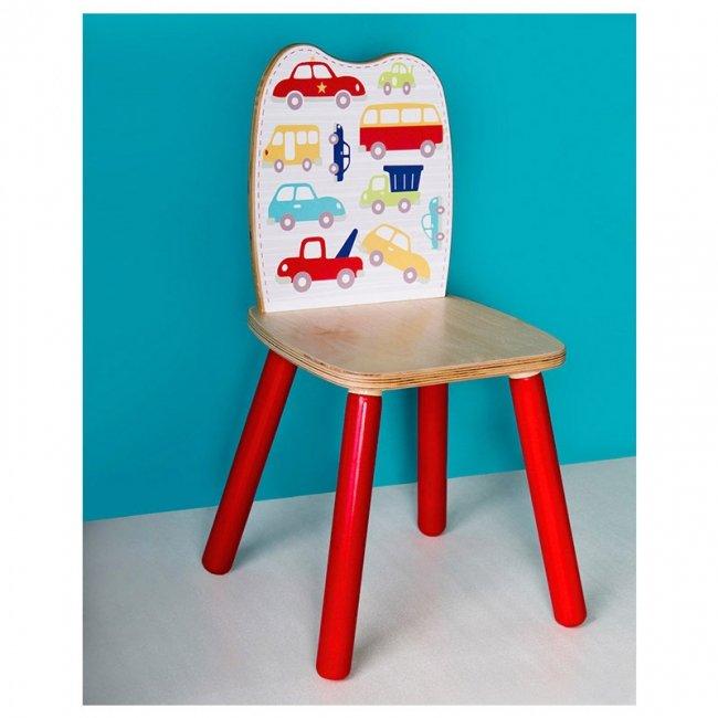صندلی چوبی کودک پوپولوس طرح خیابان کد 10515