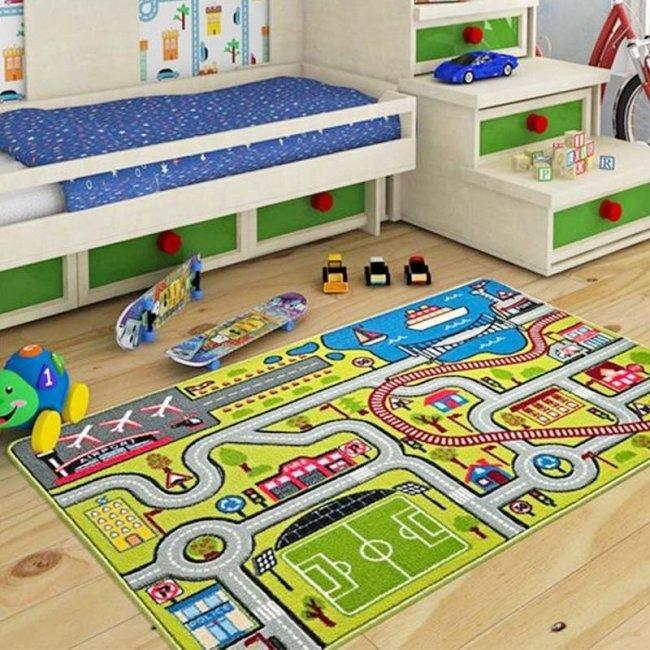 فرش اتاق کودک Confetti طرح بزرگراه  کد HYC122
