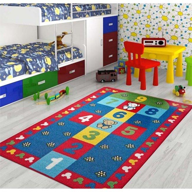 فرش اتاق کودک Confetti طرح لی لی کد SKL161