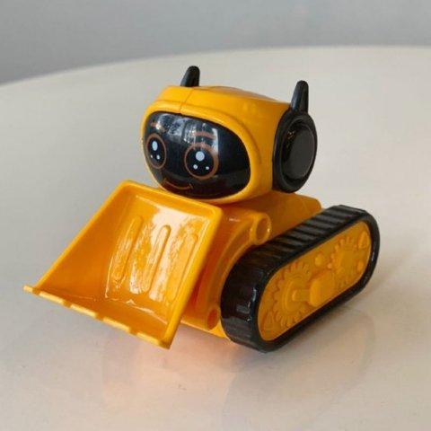 اسباب بازی ماشین قدرتی طرح ربات نارنجی کد 89911d