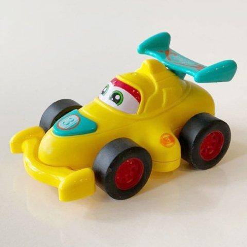 اسباب بازی ماشین قدرتی مسابقه ای زرد کد 89913d