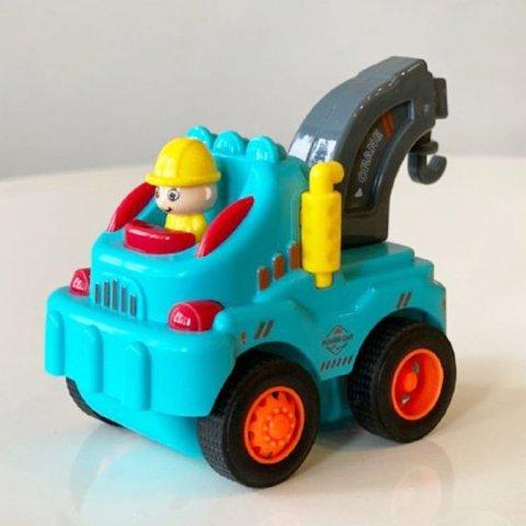 اسباب بازی جرثقیل قدرتی آبی کد 89915d