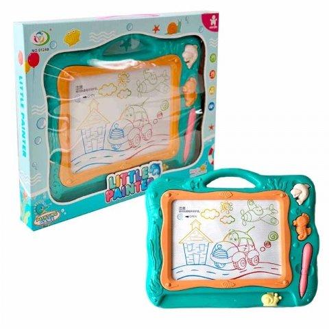 اسباب بازی تخته جادویی مغناطیسی سبز کد 0124B