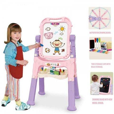 تخته نقاشی مگنتی دو طرفه کودک کد 0508