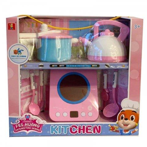 ست اسباب بازی وسایل آشپزخانه کد DL952