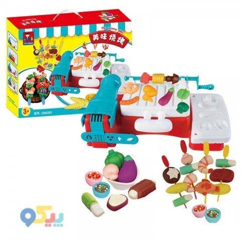 میز خمیر بازی کودک مدل باربیکیو کد 3351