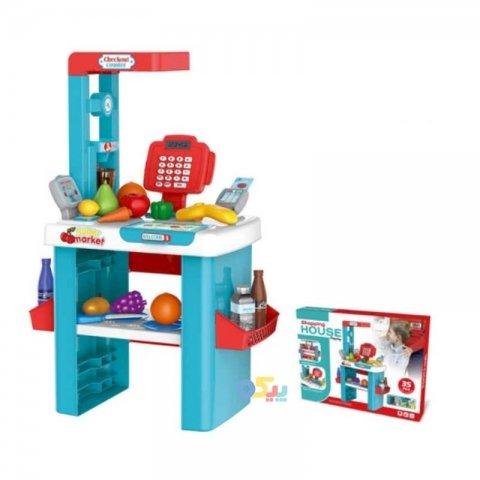 اسباب بازی صندوق فروشگاهی 35 تکه با ماشین کد 8763