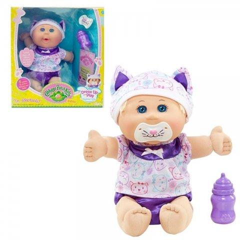عروسک دخترانه طرح کلم پیچ با پیراهن سفید 79847