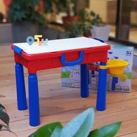 میز لگو بازی چند کاره کد 3101