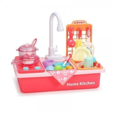 اسباب بازی سینک ظرفشویی به همراه اجاق گاز مدل wdp411