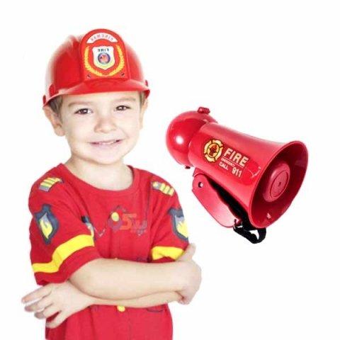 بلندگو اسباب بازی مدل آتش نشانی کد 1292