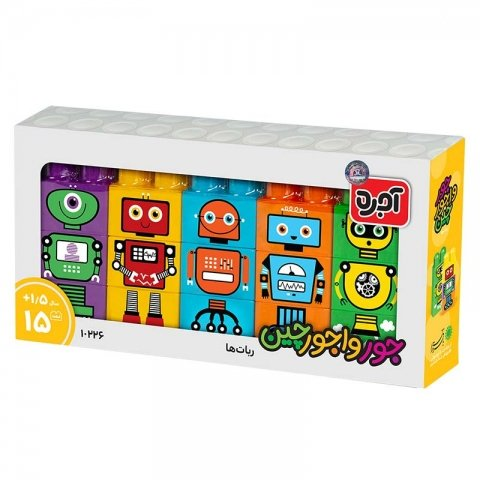 آجره جورواجورچین رباتها کد 10226
