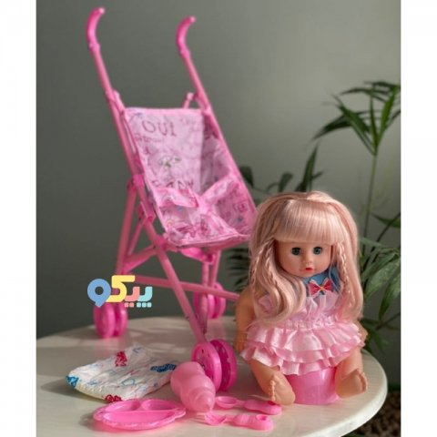 عروسک با کالسکه کد LY601