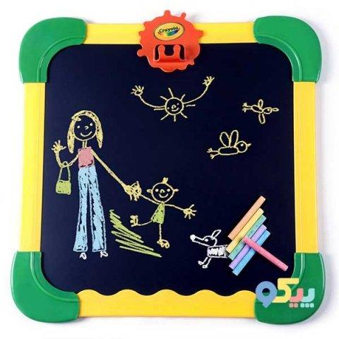 تخته نقاشی مگنتی دو طرفه کودک کرایولا crayola کد 5080
