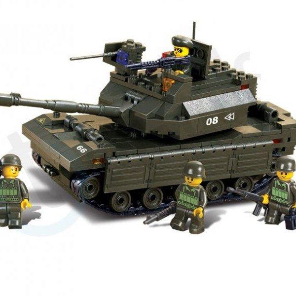 بلوک 312 تکه تانک کد Sluban  M38-B6500