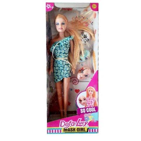 عروسک باربی دفا با لباس سبز کد 8448