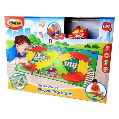 اسباب بازی پیست ماشین بازی با فرش بازی winfun کد 001250