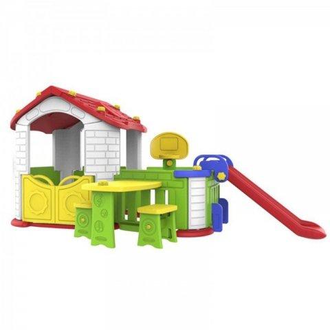 کلبه بازی کودک با سرسره مدل  CHD806