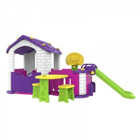 کلبه بازی کودک با سرسره مدل  CHD358